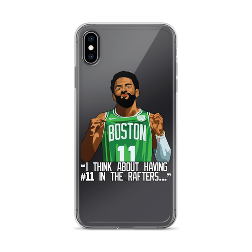 Kyrie #11 Boston Rafters iPhone Case (ALL IPHONES)