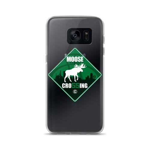Moose (Monroe) Crossing in Boston Samsung Cases