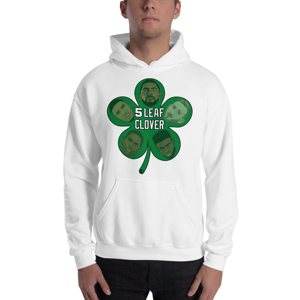 5 Leaf Clover Boston Starters Nickname Hooded Sweatshirt