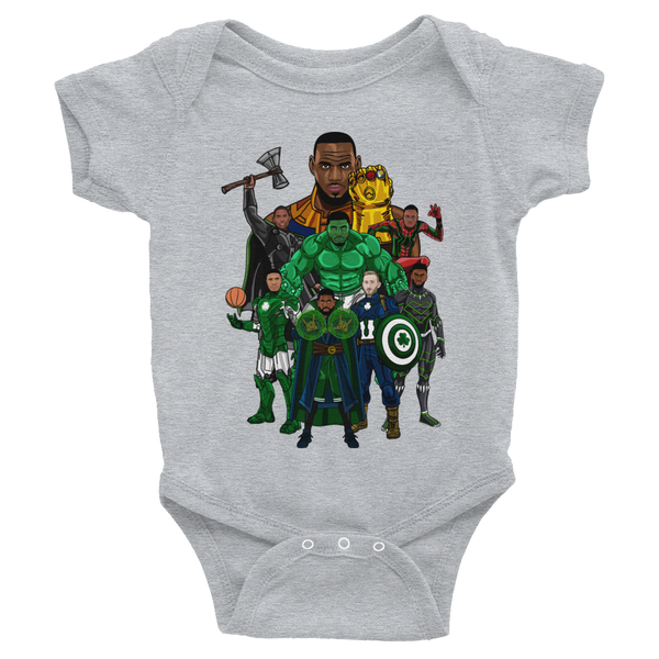Boston Avengers (Beat LeBronos) Infant Bodysuit Onesie