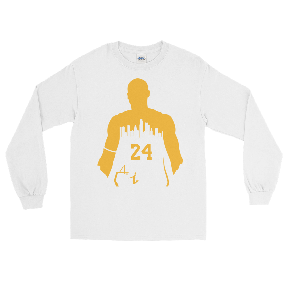KOBE  24 My City (Los Angeles) Long Sleeve Shirt – Celtics Social e21d3766c