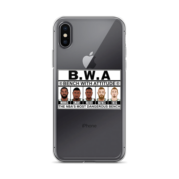 B.W.A (Bench With Attitude) iPhone Case (ALL IPHONES)