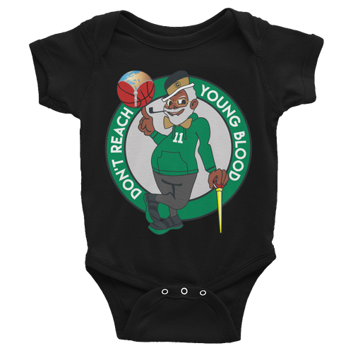 Don't Reach Youngblood Infant Bodysuit Onesie