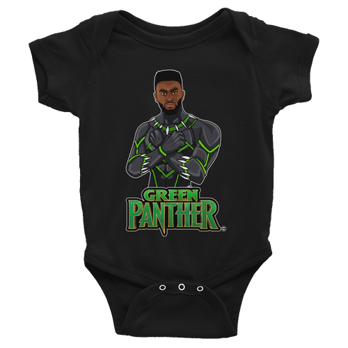 Jaylen (Green Panther) Infant Bodysuit
