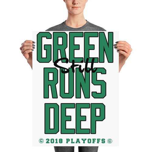 Green (Still) Runs Deep Playoff Poster