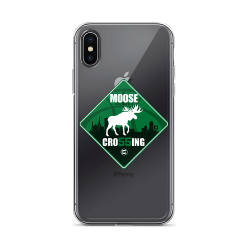 Moose (Monroe) Crossing in Boston iPhone Case (ALL IPHONES)
