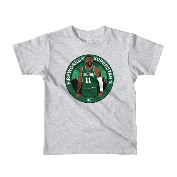 Kyrie (Fireworks & Superstar) Check  Kids T-shirt