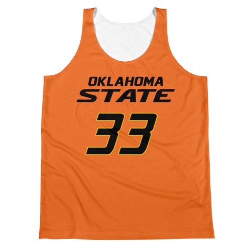 M. Smart #33 Oklahoma St. College Jersey Tank Top