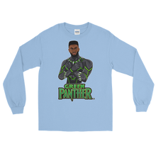 Jaylen (Green Panther) Long Sleeve T-Shirt