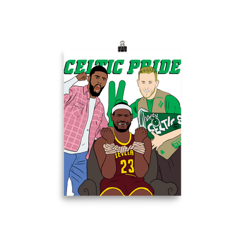 Celtic Pride Movie Parody (Kyrie Hayward LeBron) Poster