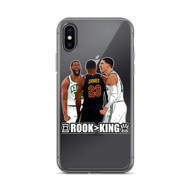 Tatum Over LeBron (Rook > King) Checkmate iPhone Case (ALL IPHONES)