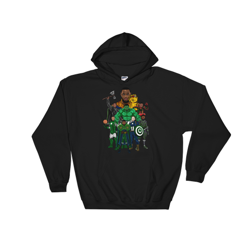 Boston Avengers (Beat LeBronos) Hooded Sweatshirt