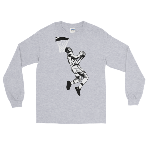 Jaylen (The Dunk) Long Sleeve T-Shirt