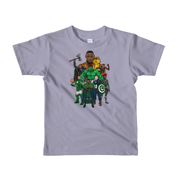 Boston Avengers (Beat LeBronos) Kids T-Shirt
