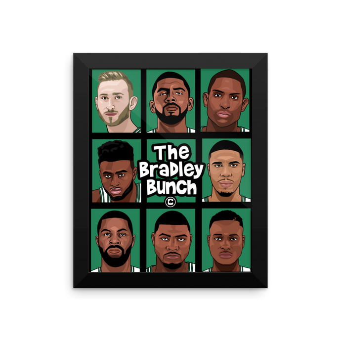 The BRADLEY BUNCH (Coach Stevens Squad) Framed Premium Poster