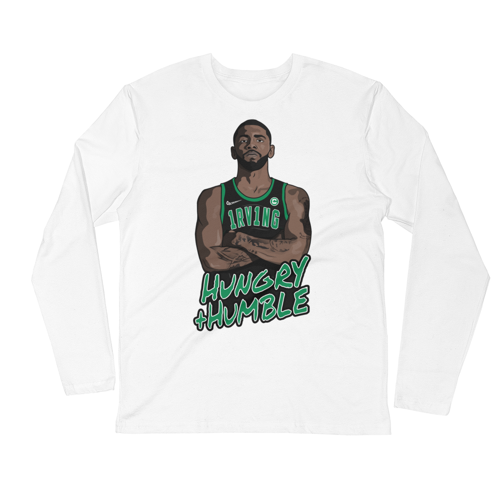Kyrie 1RV1NG (Hungry + Humble) Long Sleeve Fitted Crew