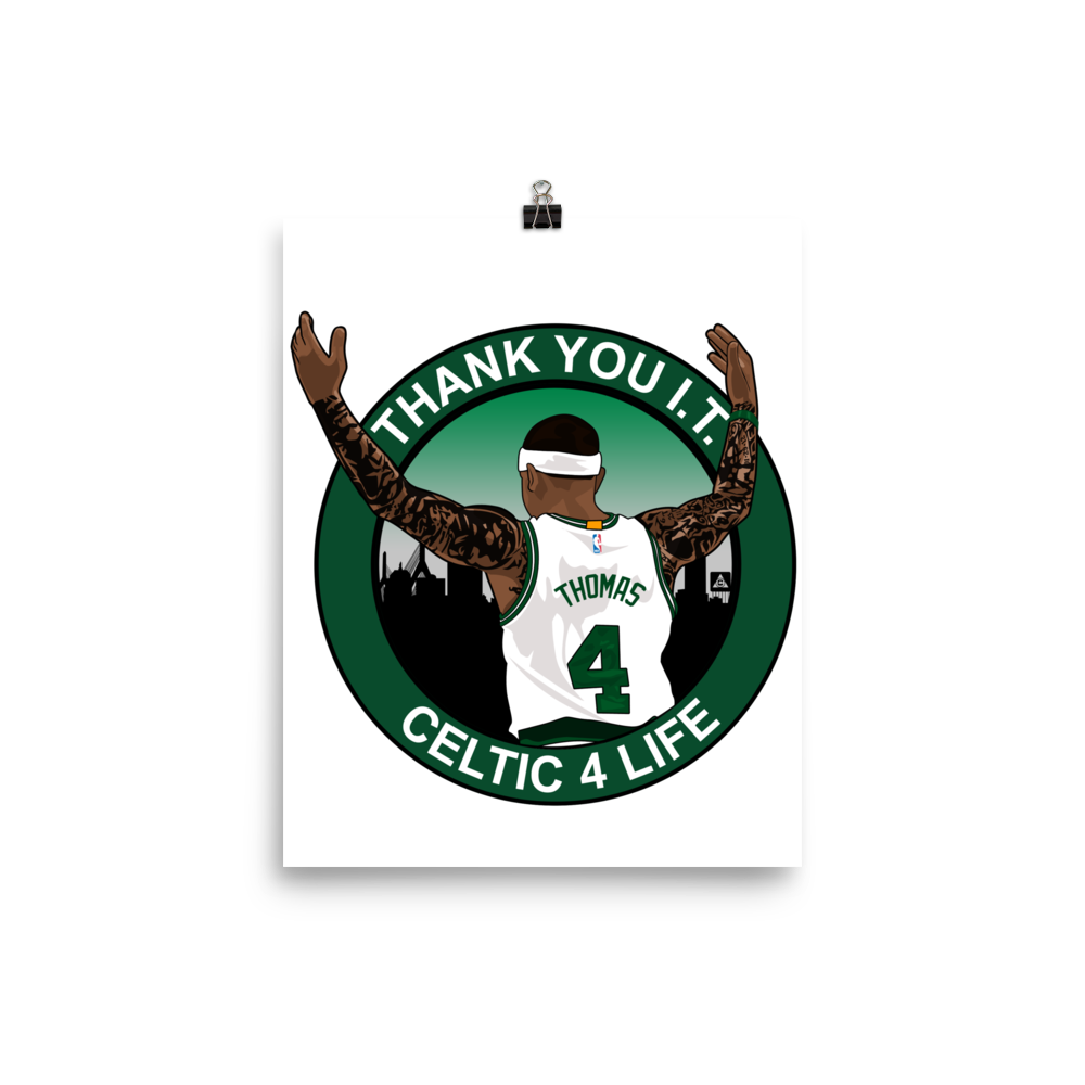Thank You I.T. (Celtic 4 Life) Tribute Poster