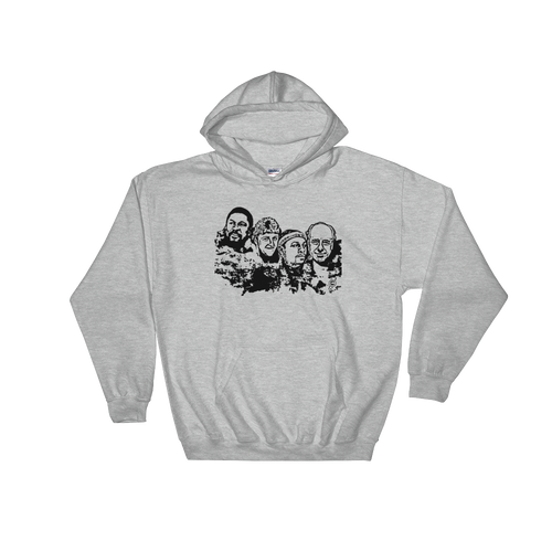Boston Mt. Rushmore Hooded Sweatshirt
