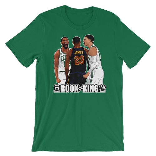 Tatum Over LeBron (Rook > King) Checkmate Shirt