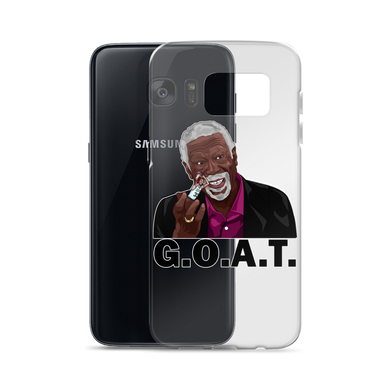 Bill Russell (Flipping the Bird) GOAT Samsung Cases