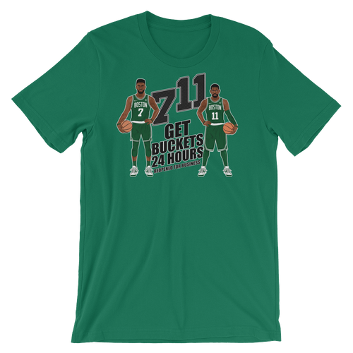 7/11 Get Buckets Reopened For Business (Kyrie & Jaylen) Shirt