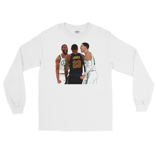 Tatum Over LeBron Long Sleeve T-Shirt