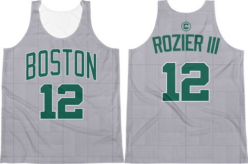 T. Rozier III #12 City Edition Jersey Tank Top