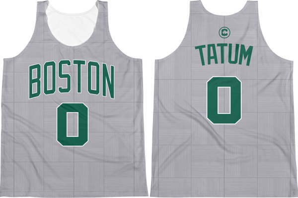 J. Tatum #0 City Edition Jersey Tank Top