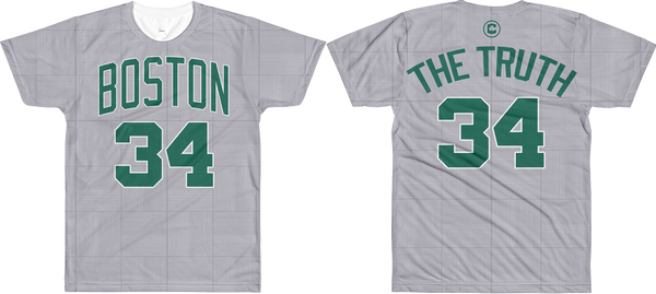 The Truth #34 City Edition Court (Nickname & Number) All-Over T-Shirt