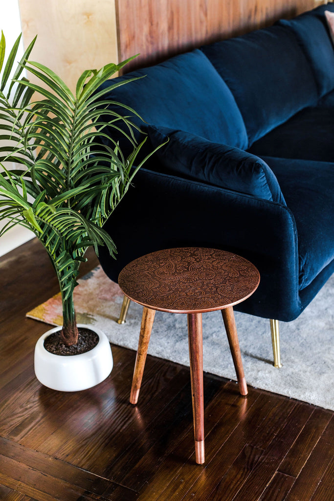 Mira End Table (Copper)