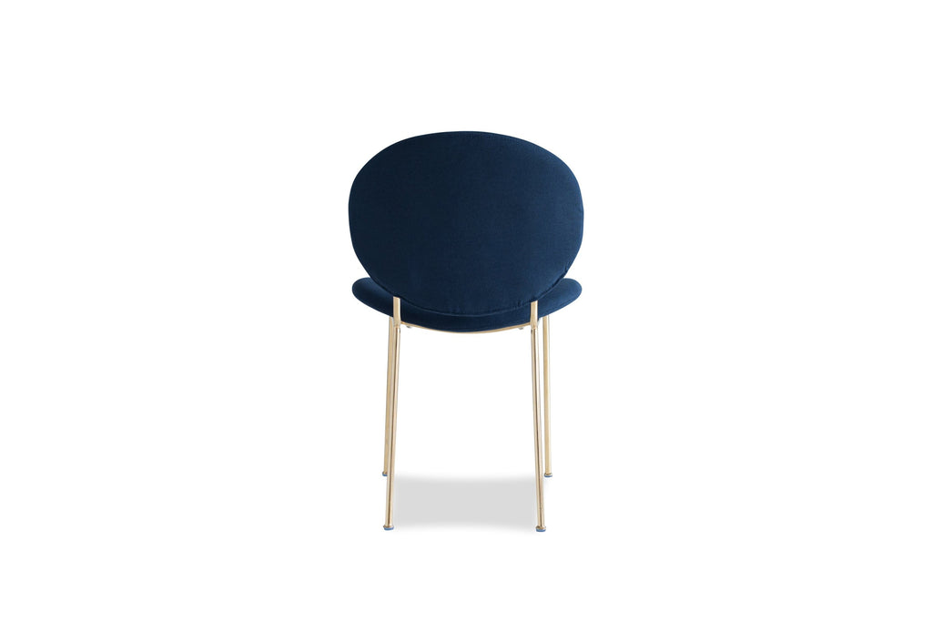 Demi Dining Chair, Blue (Set of 2)