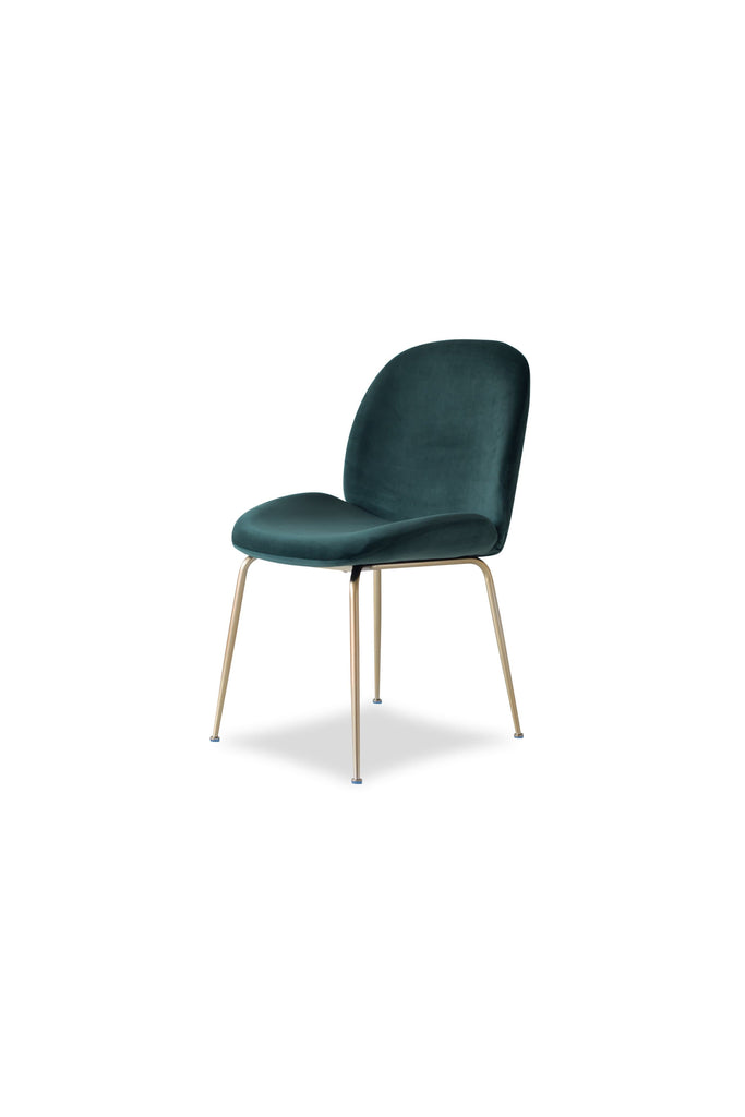 Verona Dining Chair, Emerald (Set of 2)