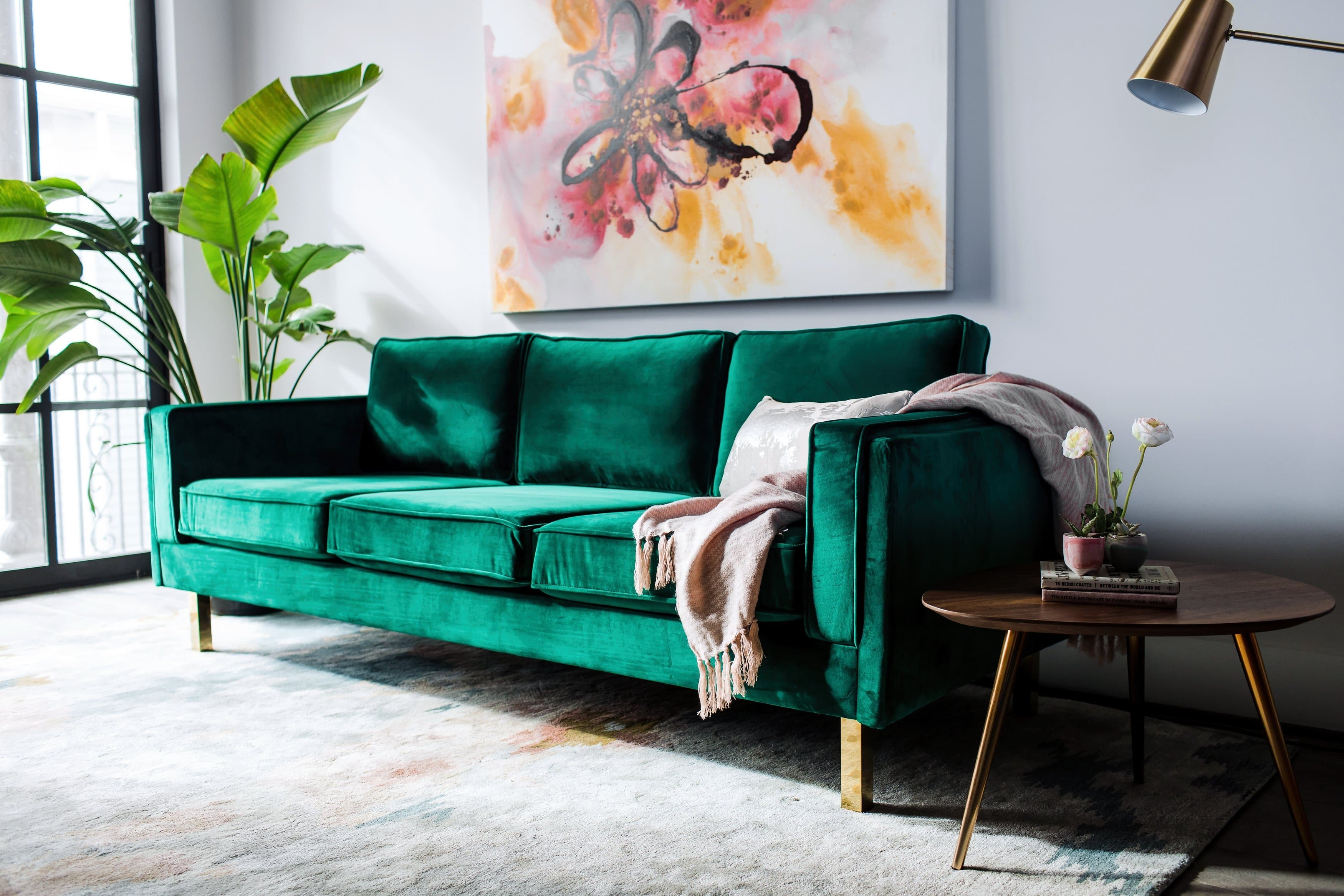 Green Velvet Furniture