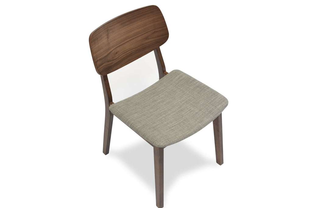 Baldwin Dining Chair, Light Grey (Set of 2)