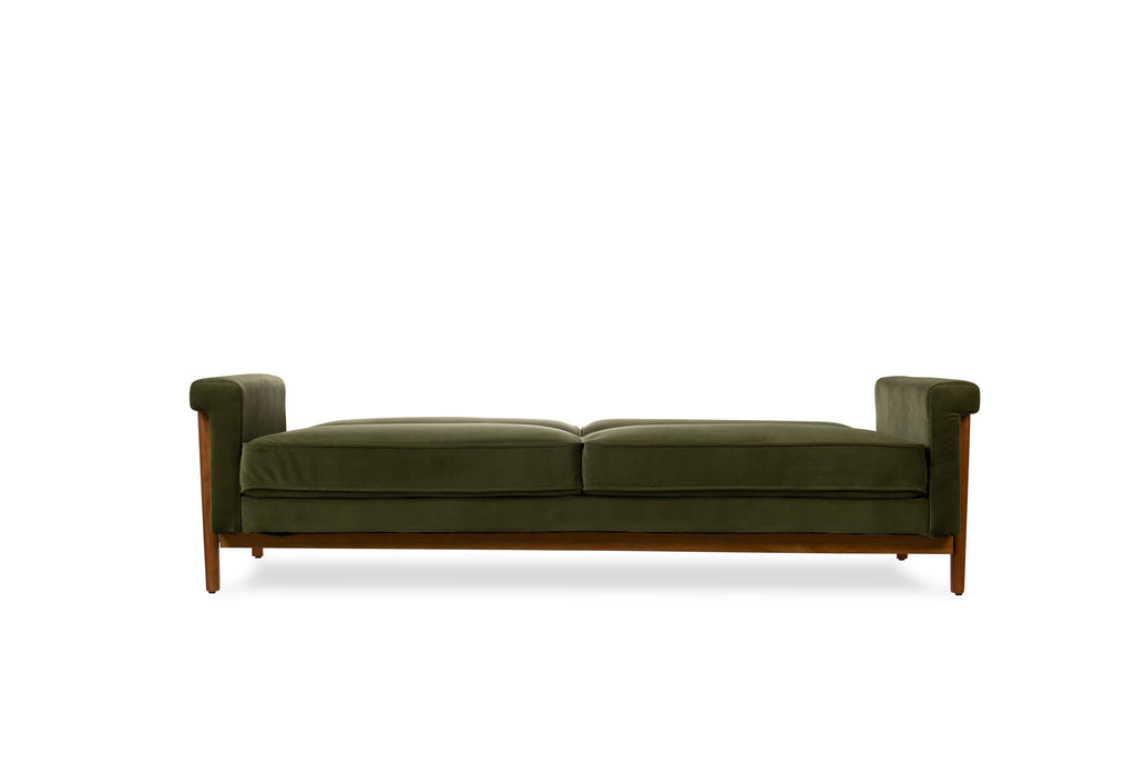 Ashbury Sleeper Sofa (Olive Velvet)