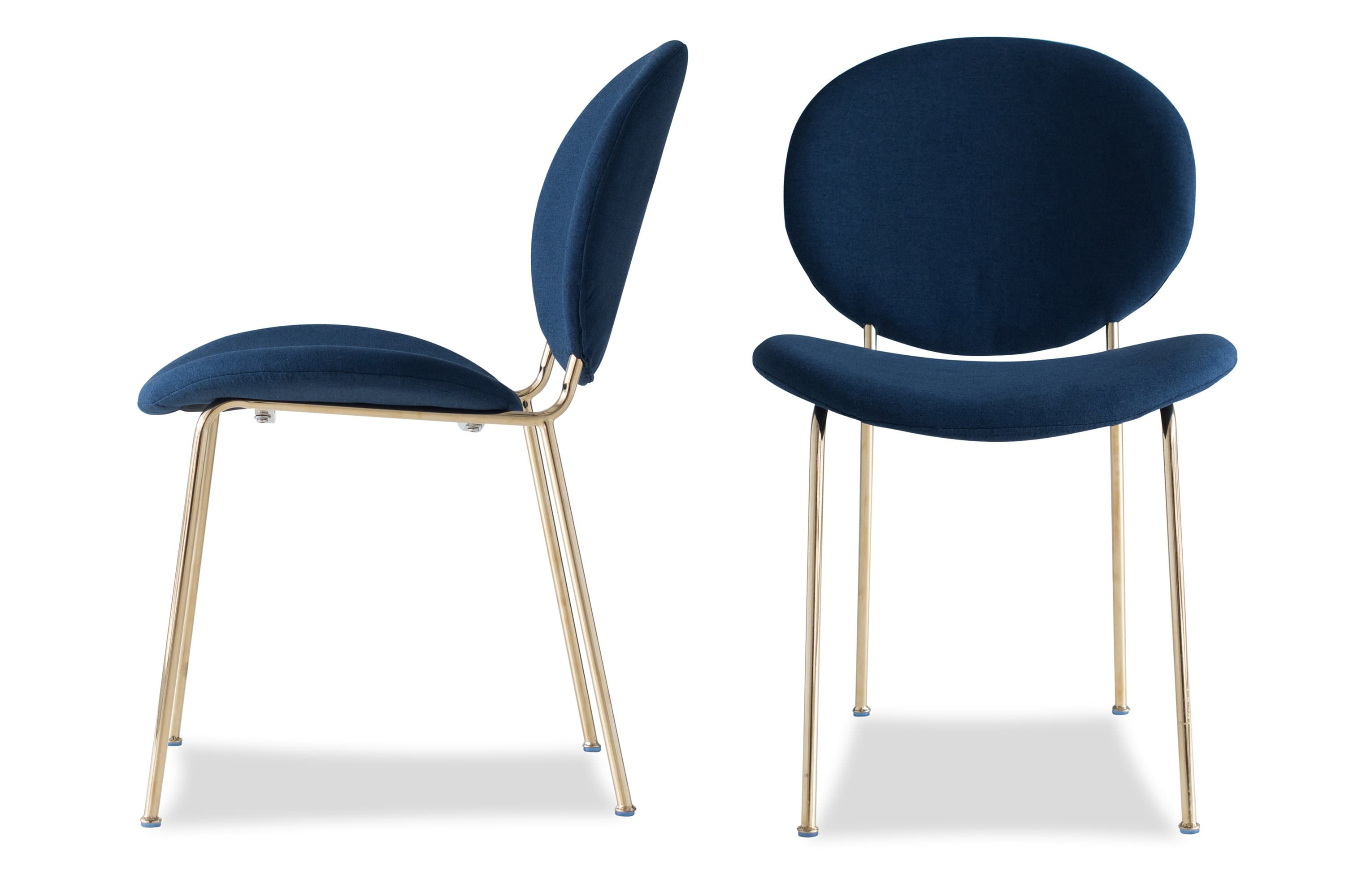 Awesome Demi Dining Chair Blue Set Of 2 Dailytribune Chair Design For Home Dailytribuneorg