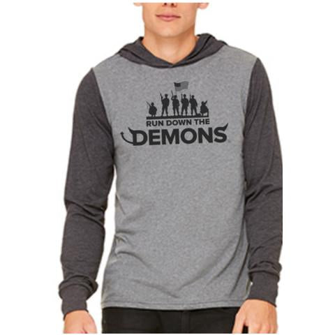 Run Down the Demons Hooded Tee