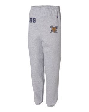Lebo Lax Champion SweatPants (Add # if you want)
