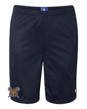 Lebo Lax Navy Champion Pocket Shorts