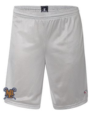 Lebo Lax Grey Champion Pocket Shorts