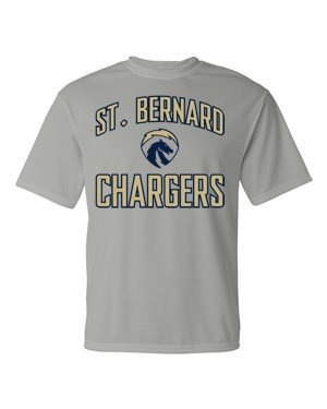 Chargers Grey Performance Shirt