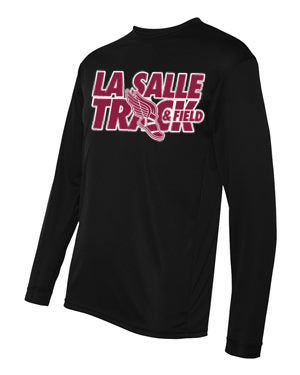 Black LSA Track Performance Long Sleeve #3