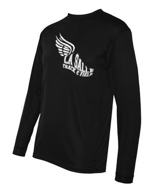 Black LSA Track Performance Long Sleeve #2