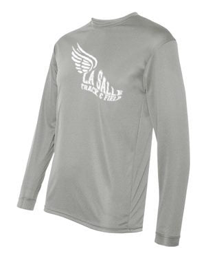 Grey LSA Track Performance Long Sleeve #2