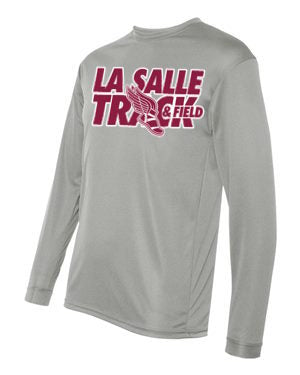 Grey LSA Track Performance Long Sleeve #3