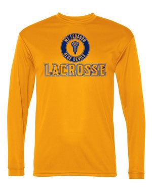 Gold Lebo Lax Long Sleeve DryFit (Design #2)