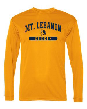 Gold Lebo Soccer Long Sleeve Performance #2