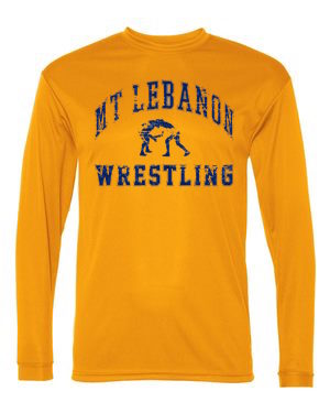 Performance Gold Lebo Wrestling Long Sleeve