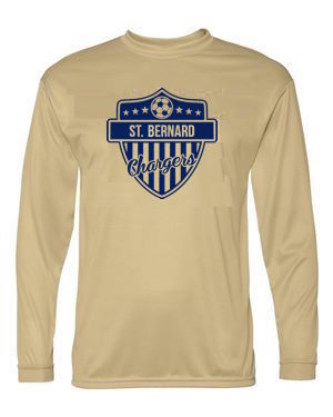 Chargers Performance Long Sleeve Soccer Shirt