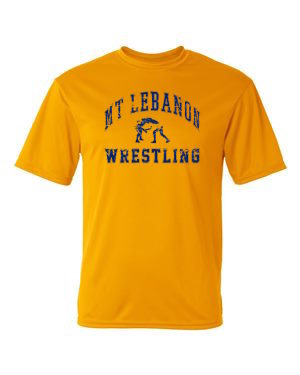 Performance Gold Lebo Wrestling Short Sleeve